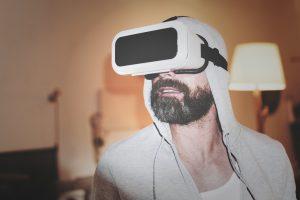 VR headset alone
