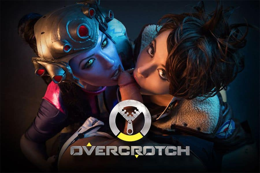 overwatch vr parody