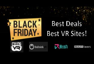 Big Black Friday Savings on VR Porn Sites