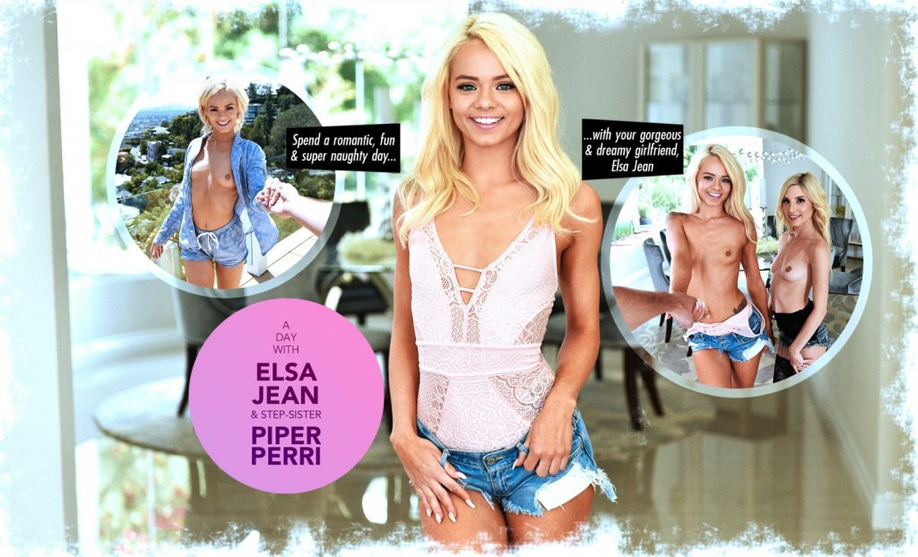 A day with Elsa Jean & step-sister, Piper Perri choose your adventure