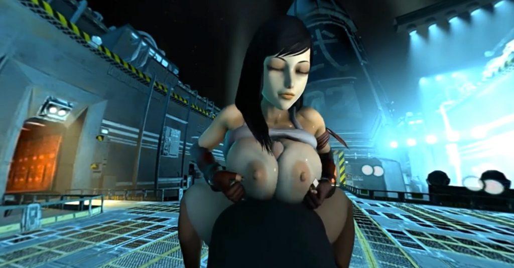tifa titjob in mako reactor vr porn